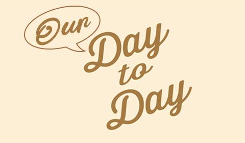 コロナ禍の特別企画「Day to Day」に連なる、私たちの「ある一日」。