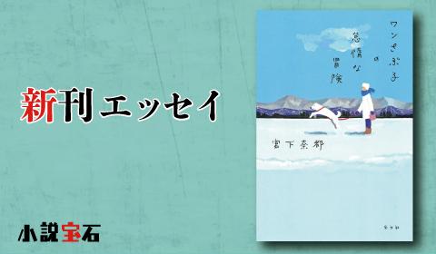 宮下奈都『ワンさぶ子の怠惰な冒険』著者新刊エッセイ